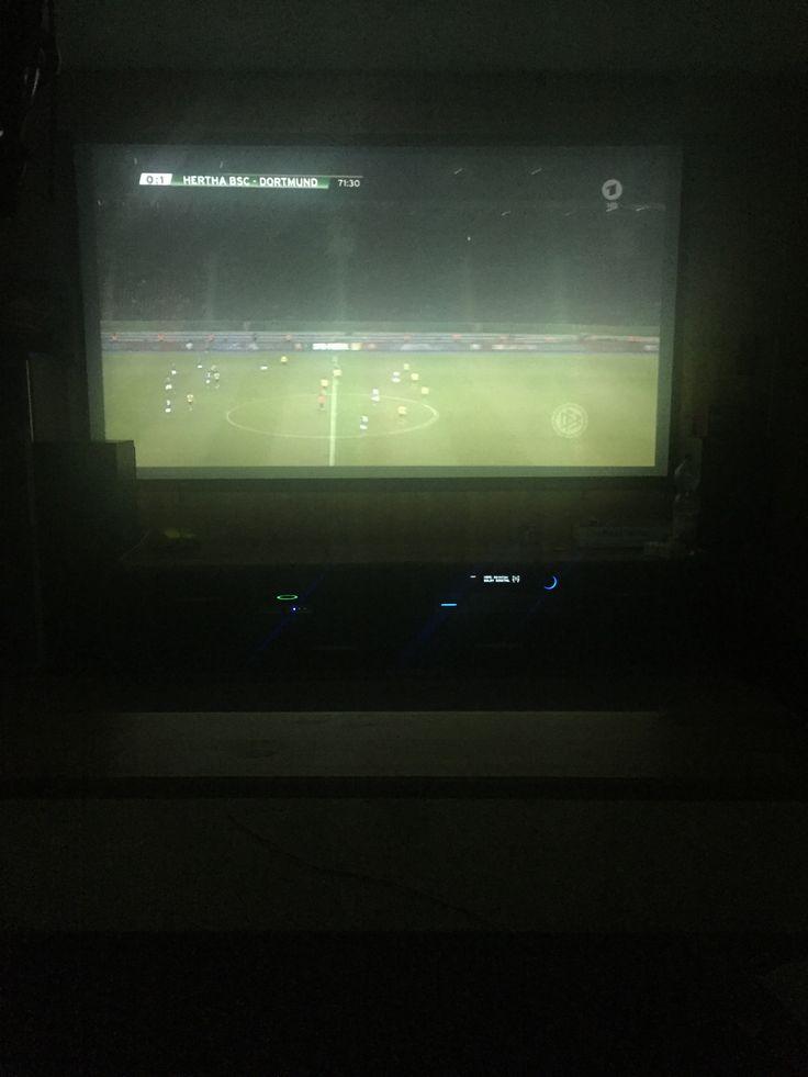 DFB-Pokal Halbfinale  Herta - BVB