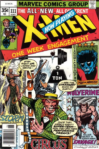 The Grooviest Covers of All Time: Dave Cockrum Covers the X-Men, Round 2