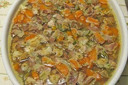 Altberliner Sülze, ein schmackhaftes Rezept aus der Kategorie Schwein. Bewertungen: 13. Durchschnitt: Ø 4,3.