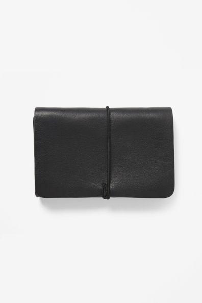 COS, leather purse