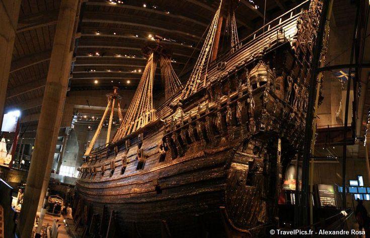 TravelPics.fr – Pirates des Caraïbes en vrai : Vasa, le seul bateau de guerre du 17ème siècle conservé au monde