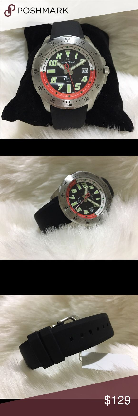 Men Brand new sport watch Lucien Piccard Brand new watches. Newer worn . Comes with original box and original papers. Lucien Piccard Accessories Watches