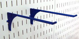 Wall Control Pegboard 9in Reach Extended Slotted Hook Pair - Slotted Metal Pegboard Hooks for Wall Control Pegboard and Slotted Tool Board - Blue by Wall Control. $6.99. The Wall Control Pegboard 9in Reach Extended Slotted Hook for Wall Control's Pegboard and Slotted Tool Board is great for garage tool storage and organization and is a great pegboard hook for hanging many items such as extension cords, air hoses, garden hoses, rope, small ladders, spools, tape rolls, store mer...