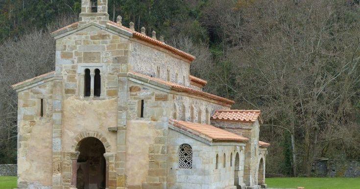Pre romanesque buildings in Asturias, Spain