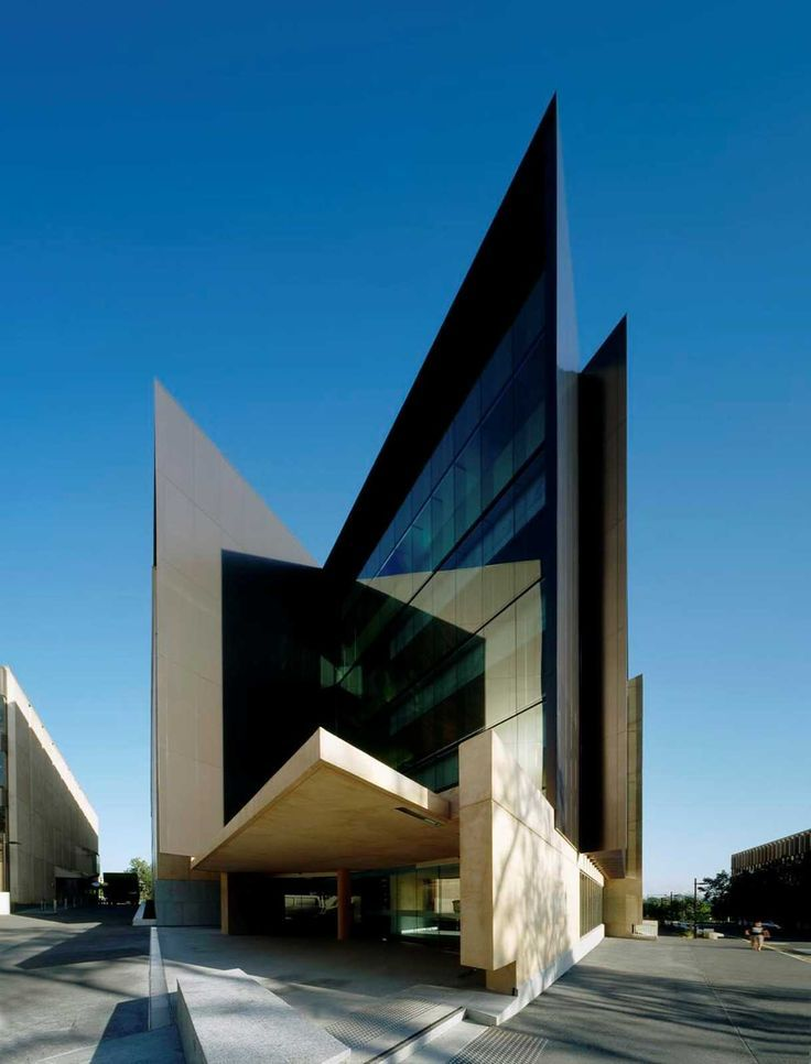 Richard Kirk Architect - Sir Llew Edwards Building, St. Lucia, Brisbane,  Australia