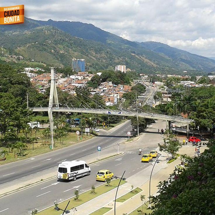 Mirando hacia Piedecuesta en Santander, cada día más hermosa. Gracias Andres Rodríguez (facebook.com/profile.php?id=100002338786555) por la foto #bucaramangabonita