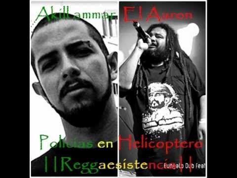 Policias en Helicoptero - Akil Ammar con El Aaron