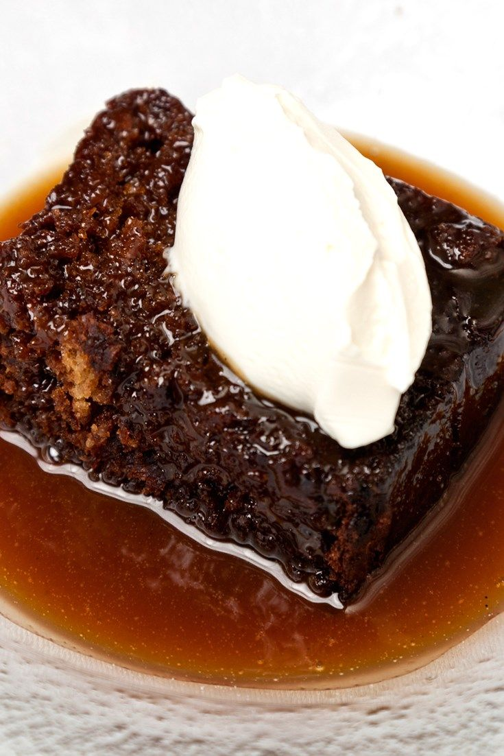This is a simple sticky toffee pudding recipe from Galton Blackiston. Top the sticky toffee pudding with ice cream or crème fraîche for a classic dessert.