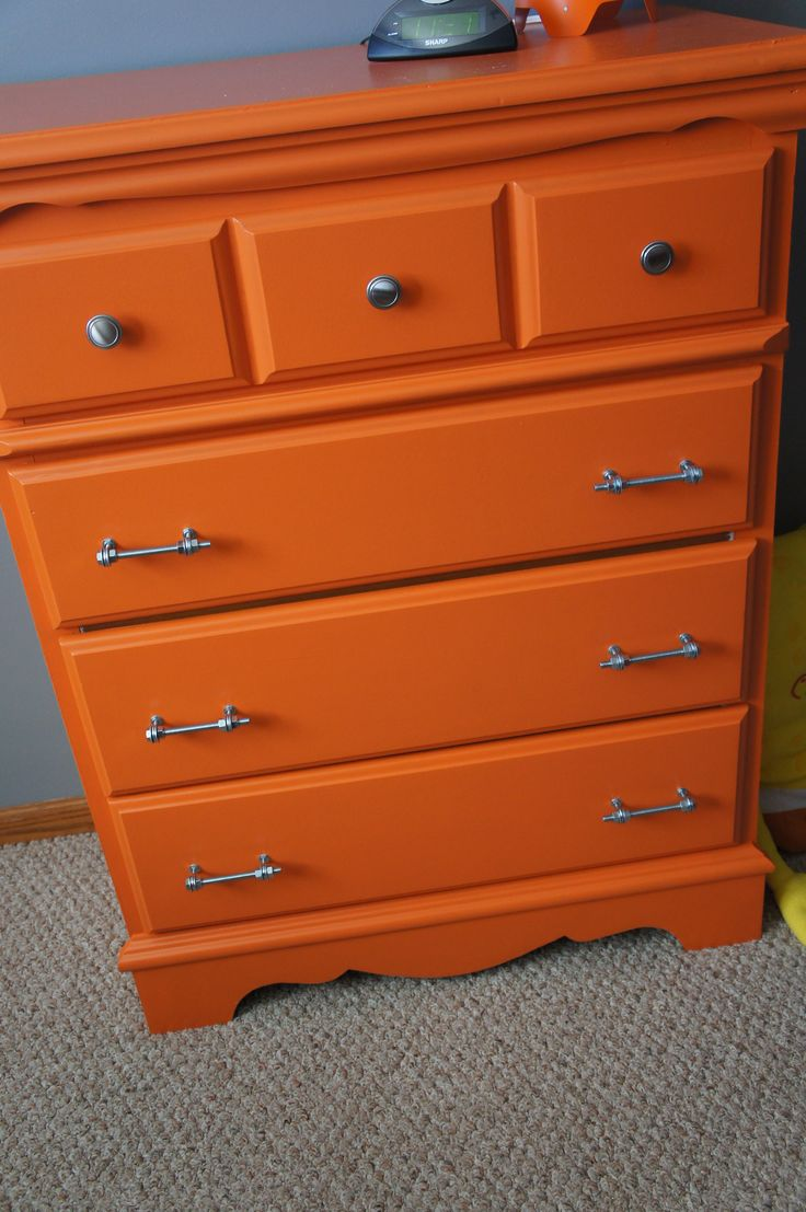 idei despre orange dresser pe pinterest  portocală - my orange dresser makeover