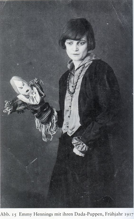 Emmy Hennings - Cabaret Voltaire