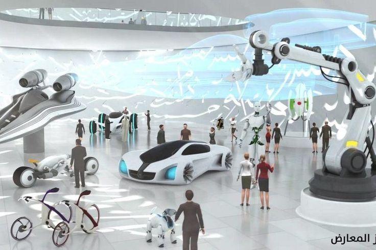 Museu do Futuro de Dubai. Saiba mais: http://88mph.com.br/2015/03/05/museu-do-futuro-de-dubai-robos-drones-holografia/