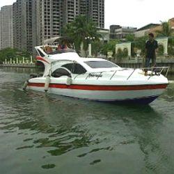 Kapal Speedboat Marina ancol
