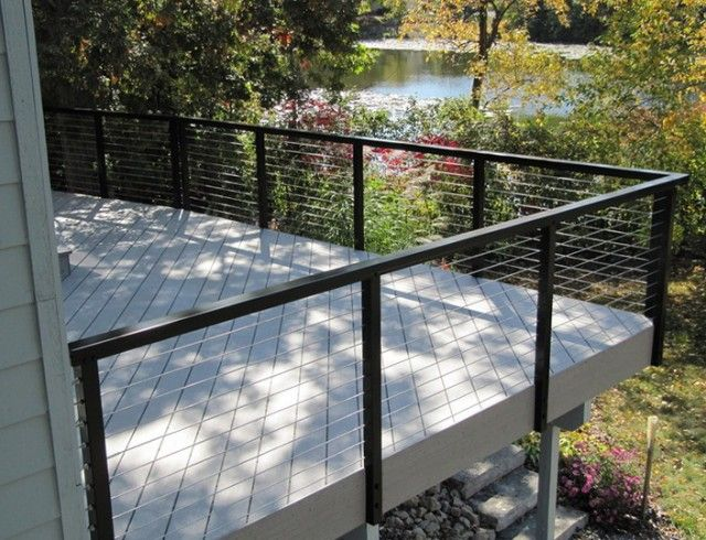 Best 10 Deck railing kits ideas on Pinterest Cable railing