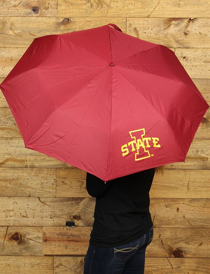 Grab this umbrella for the rainy games or walks to class Either way weve got you covered with your favorite Iowa State Cyclones
