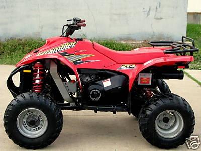 Polaris Scrambler 500 My Dream Garage Atv, Scrambler, Motorcycle