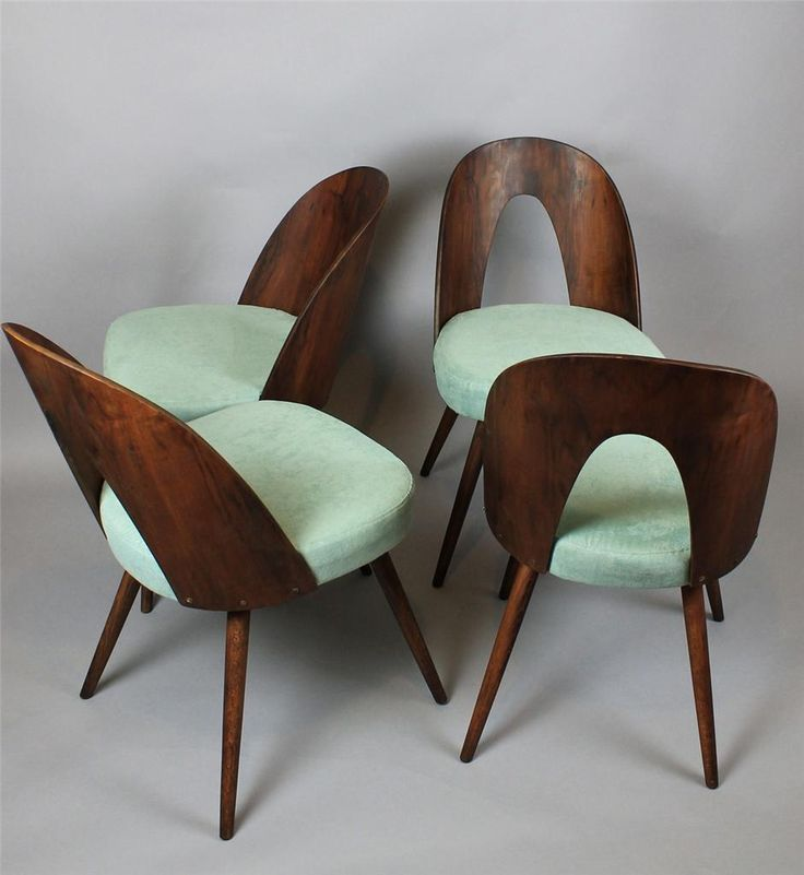 "Wooden Tatra chairs, design by Antonín Suman. Czechoslovakia, 1960s. ""just bought these"""
