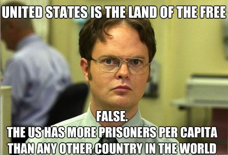 Dwight Schrute, calls them like he see's them, hahah!