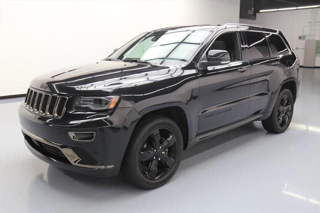 Used 2015 Jeep Grand Cherokee Overland Sport Utility 4 Door 2015