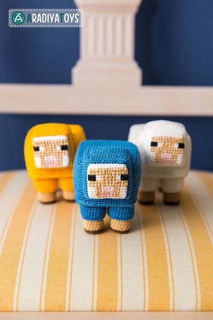 10 Awesome Minecraft Makes Cool Crochet Pinterest ...