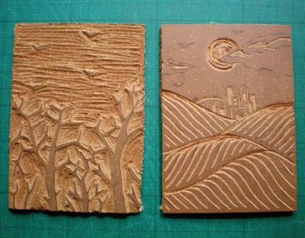 Print Your Own Seasonal Greetings Cards Using Linocut Techniques | Features | Painters Online