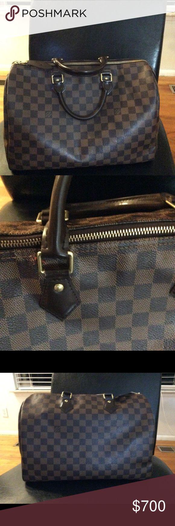 Louis Vuitton speedy bag 35 2 yr old Louis Vuitton satchel. Have original packaging and receipt. Louis Vuitton Bags Satchels