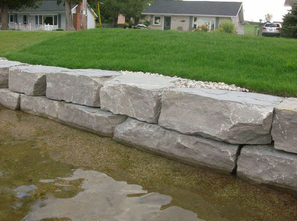 image result for armour stone waterfront stone walls on stone wall id=93884