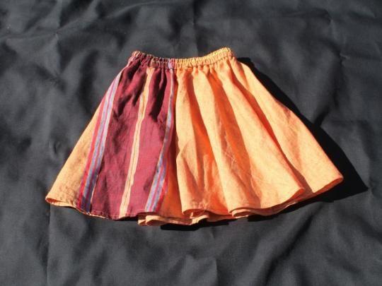 GlobeIn: Children's Flowing Kikoi Skirt #kid #skirt #yellow