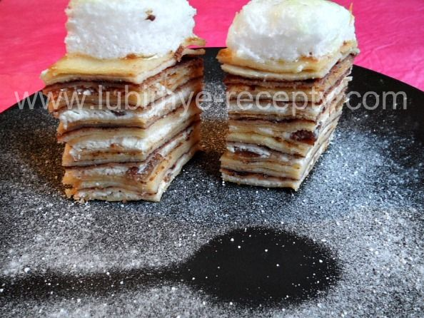 Блинно-творожный торт