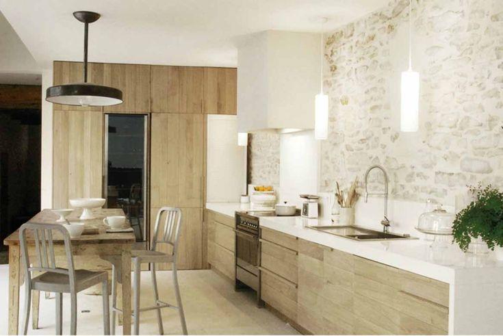 Une cuisine rustique et moderne | Décoration d' Intérieur