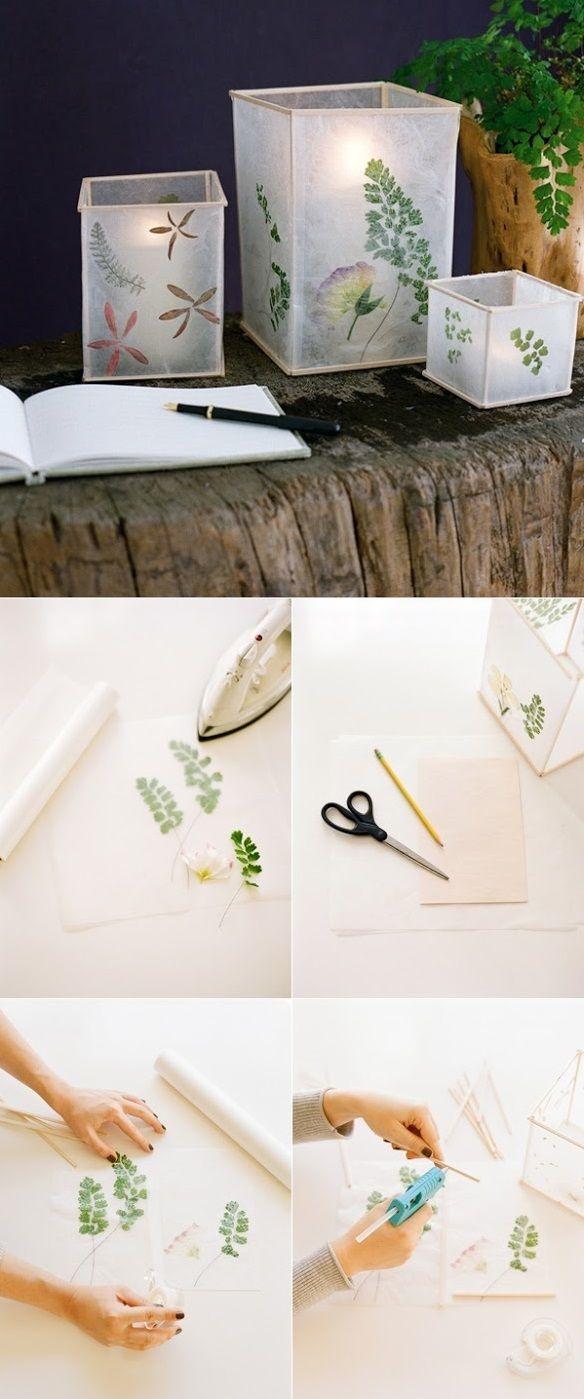 lamparas de papel estilo japonés
