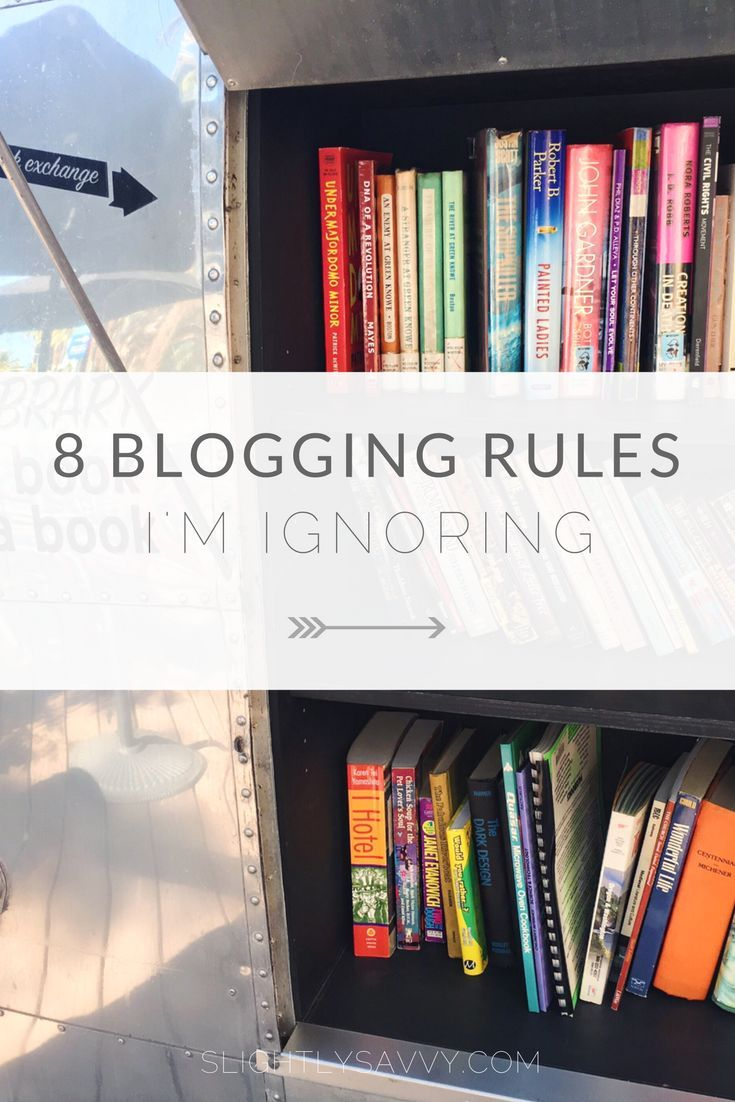 Tips on growing your blog from ground zero, connecting with your target audience, and what blogging rules I'm ignoring.