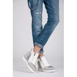 Dizajnérske brokátové topánky 29273-2W