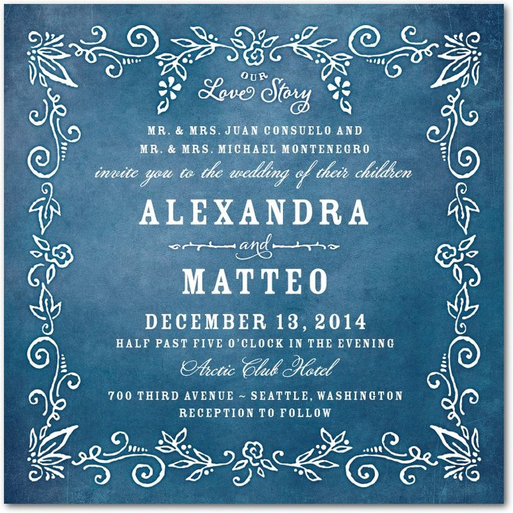 230 Best Wedding Invitations Images On Pinterest
