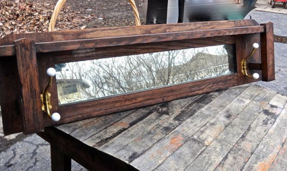Hey, I found this really awesome Etsy listing at https://www.etsy.com/listing/216222803/mirror-mantle-mirror-mirror-with-hooks