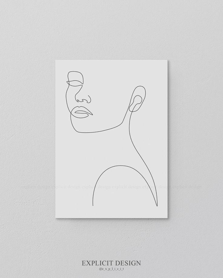 Pin De Mariana Ibanez En Garabatos Dibujos De Contorno Pintura De Arte Abstracto Arte De Silueta