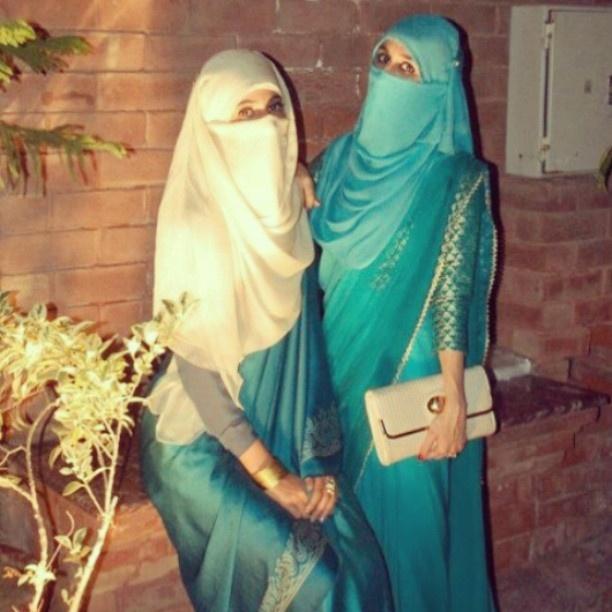 gorgeous niqabi's