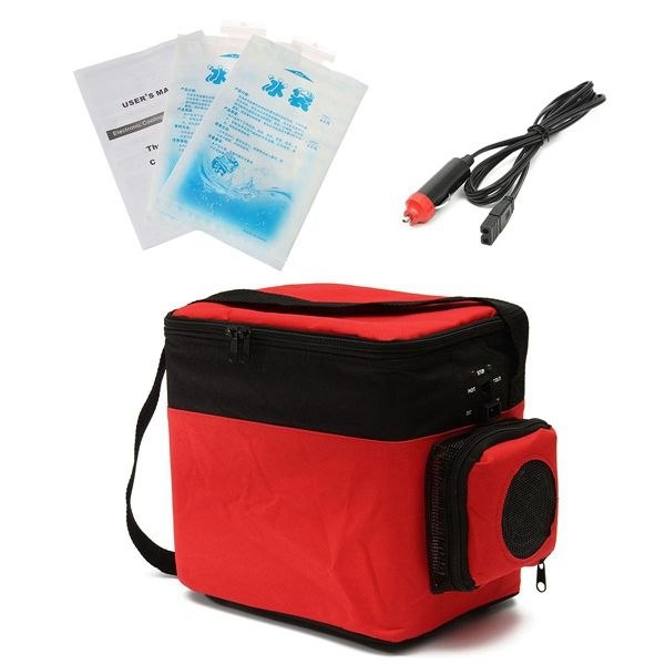 6l Car Cooling And Heating Refrigerator Mini Fridge For Auto