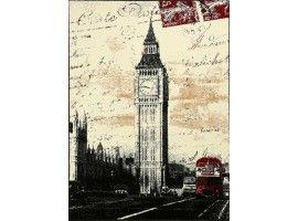 Tappeto Londra Vintage