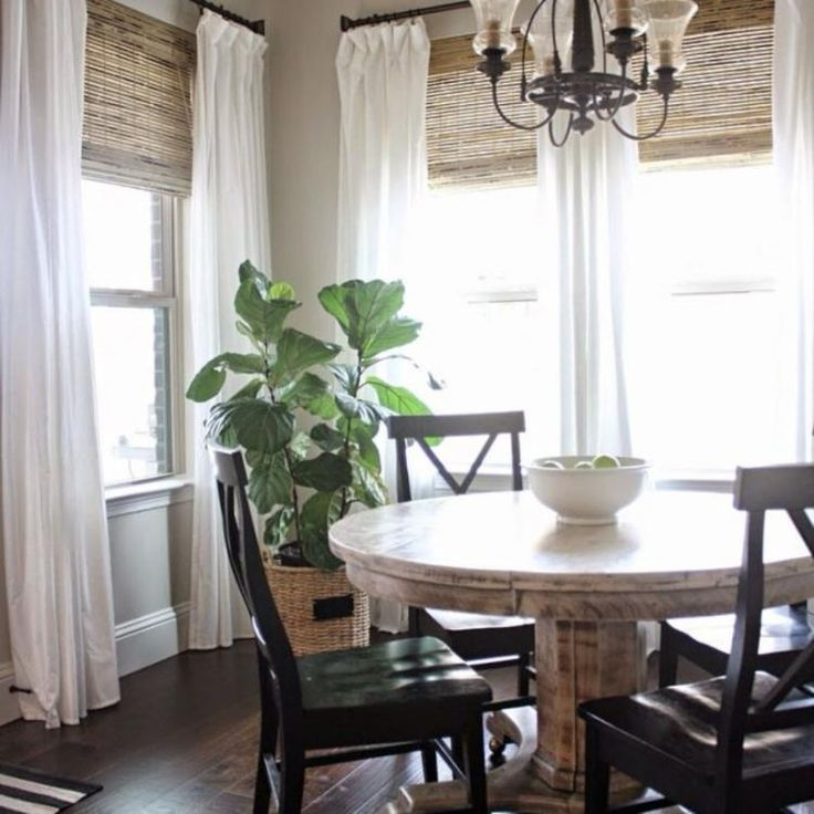 60 GORGEOUS STYLISH FARMHOUSE LIVING ROOM CURTAINS IDEAS ... on Farmhouse Living Room Curtain Ideas  id=27682
