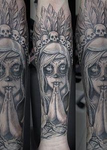 Татуировки Муэрто (мексиканские)
