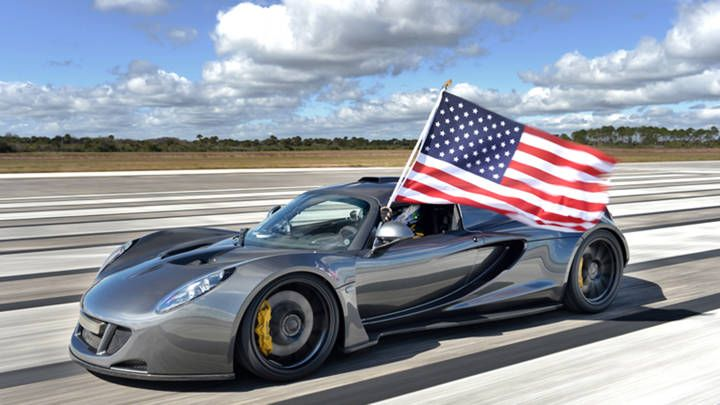 Feel the need for speed? At 270 mph, the #Hennessey #Venom GT is the fastest in the world.