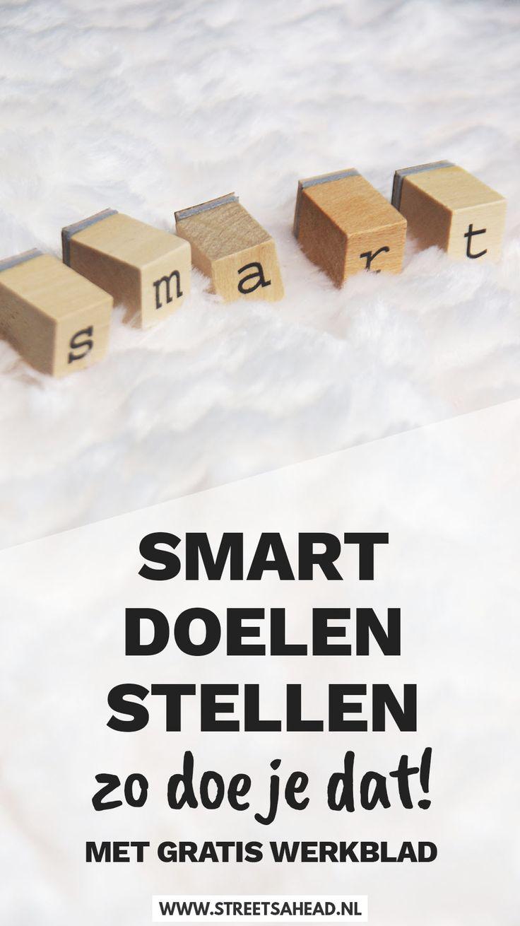 Ik neem je stap voor stap mee bij het stellen van een SMART doel. Download onderaan gratis het werkblad SMART doelen stellen en ga aan de slag!