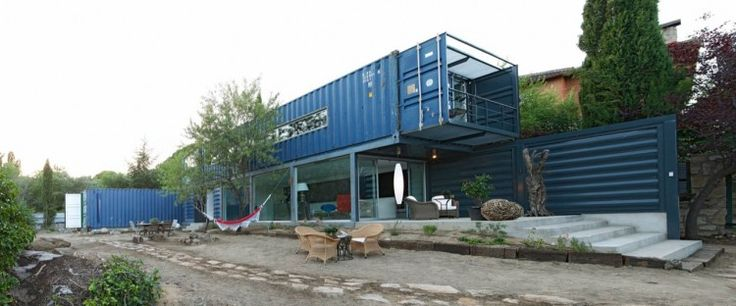 Jesse and I have talked about building our next home out of shipping containers...he already has it designed :)