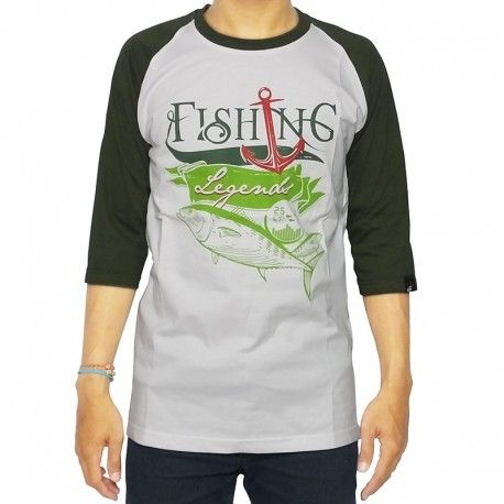 "Kaos Mancing IFT ""FISHING LEGEND (WHITE)"""