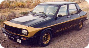 Renault 12 Alpine 1979