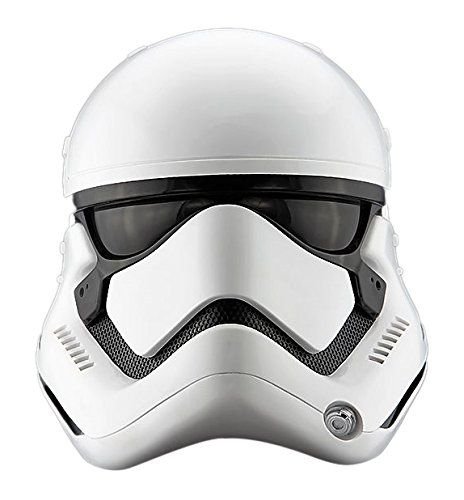 Amazon.com: Star Wars : The Force Awakens First Order Stormtrooper 1:1 Helmet: Toys & Games