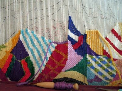 works in progress : More quilt design, tapestry diary and four selvedge weaving going on