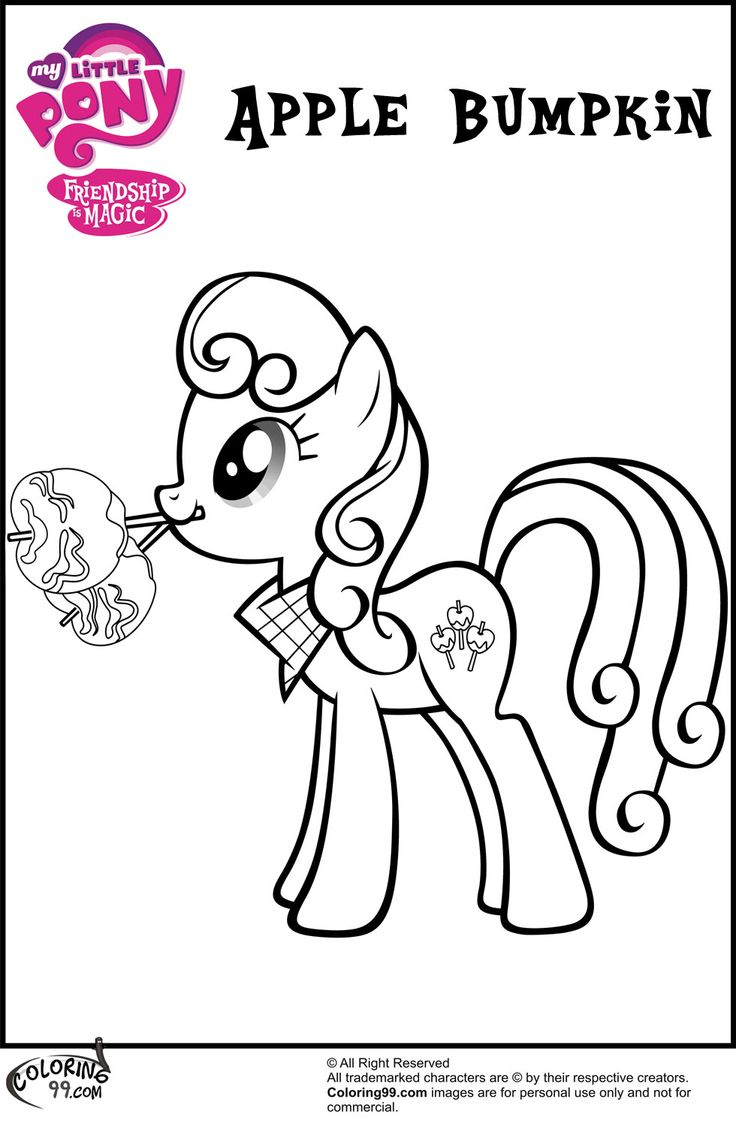 My little pony coloring pages apple bloom - My Little Pony Coloring Pages Google S Gning