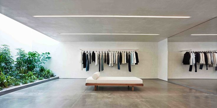 Helmut Lang Concept Store in West Hollywood by Standard Architecture   Yellowtrace