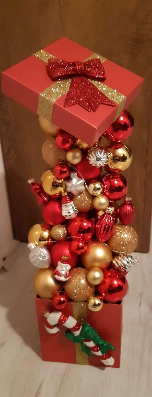 Kerstballen Doos Kerst Knutselen Haken Kerst Doos Decoratie